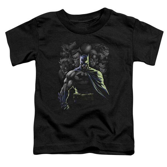 Batman Villains Unleashed Short Sleeve Toddler Tee Black Lg T-Shirt