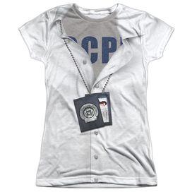 Gotham Gordon Pd Uniform Short Sleeve Junior Poly Crew T-Shirt