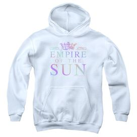 Empire Of The Sun Rainbow Logo Youth Pull Over Hoodie