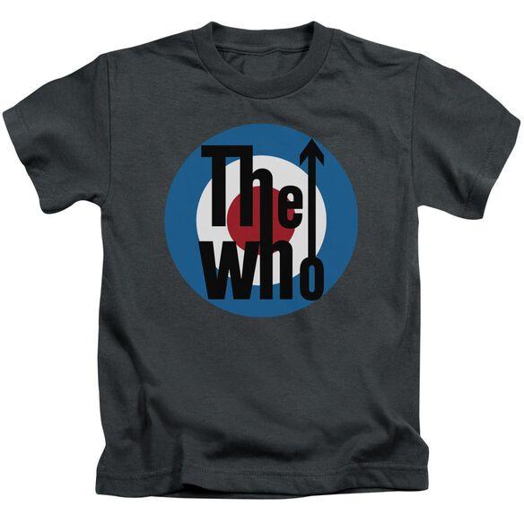 The Who Logo Short Sleeve Juvenile T-Shirt