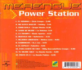 Various Artists - Merengue Power Station