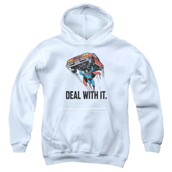 Dco Deal With It Youth Pull Over Hoodie