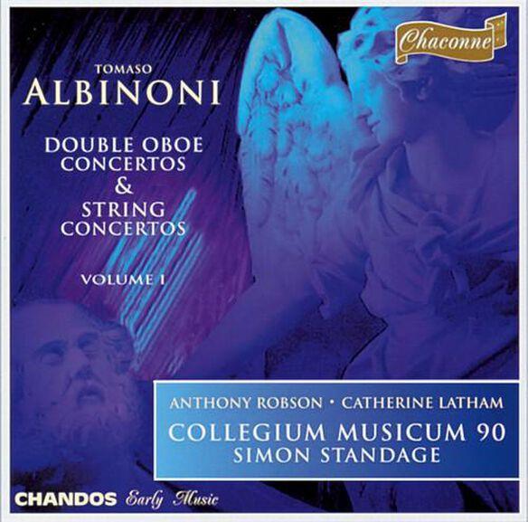 Simon Standage - Double Oboe Concertos / String Concertos