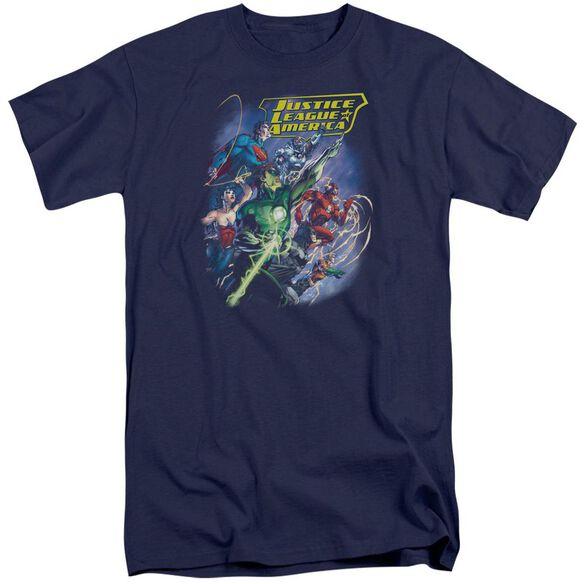 Jla Onward Short Sleeve Adult Tall T-Shirt