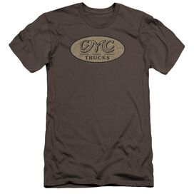Gmc Vintage Oval Logo Premuim Canvas Adult Slim Fit