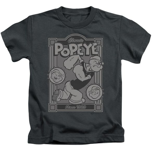 POPEYE CLASSIC POPEYE - S/S JUVENILE 18/1 - CHARCOAL - T-Shirt
