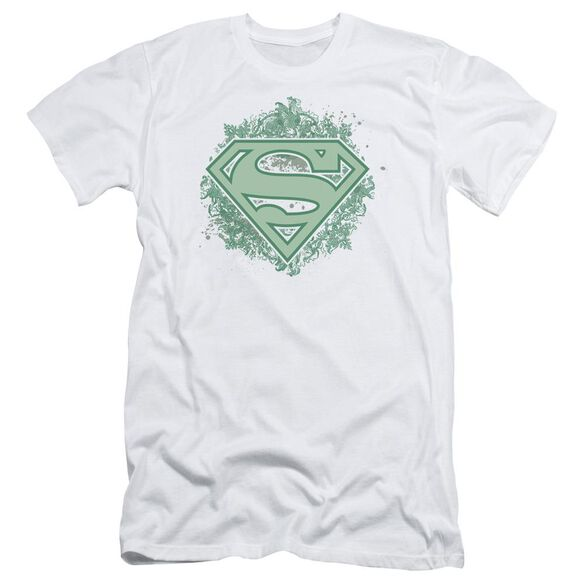 Superman Ornate Shield Short Sleeve Adult T-Shirt