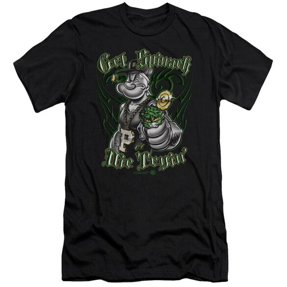 Popeye Get Spinach Short Sleeve Adult T-Shirt
