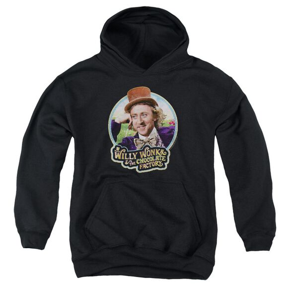 Willy Wonka And The Chocolate Factory Its Scrumdiddlyumptious Youth Pull Over Hoodie
