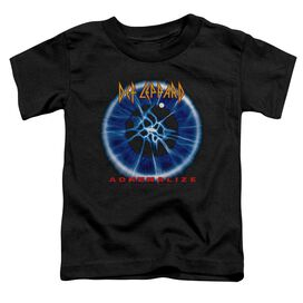 Def Leppard Adrenalize Short Sleeve Toddler Tee Black T-Shirt