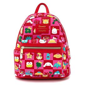 Loungefly Sanrio Hello Kitty All Over Print Mini Backpack