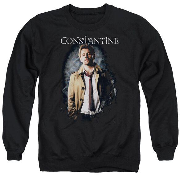 Constantine Smoker Adult Crewneck Sweatshirt