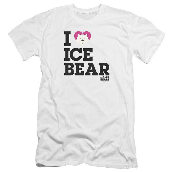 We Bare Bears Heart Ice Bear Hbo Short Sleeve Adult T-Shirt