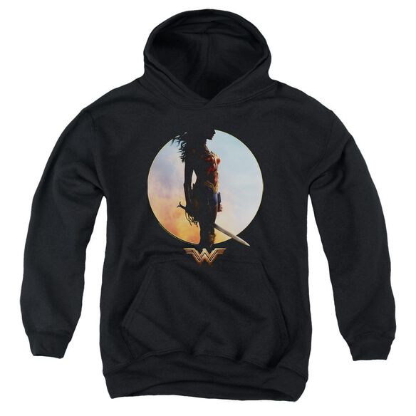 Wonder Woman Movie Wisdom And Wonder Youth Pull Over Hoodie