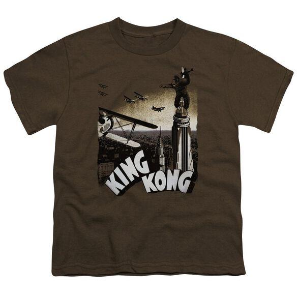 King Kong Final Battle Short Sleeve Youth T-Shirt
