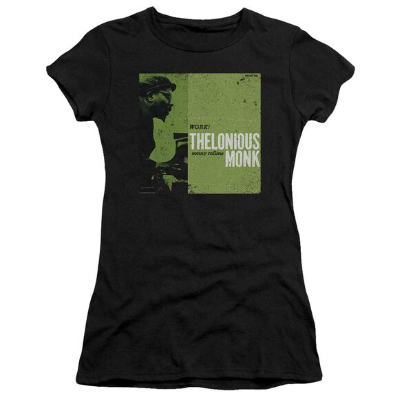 Thelonious Monk Work Short Sleeve Junior Sheer T-Shirt