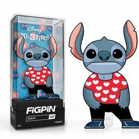 Lilo & Stitch Stitch in Lilo Heart Shirt FiGPiN