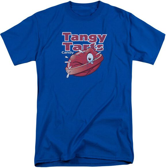 Dubble Bubble Tangy Tarts Short Sleeve Adult Tall Royal T-Shirt