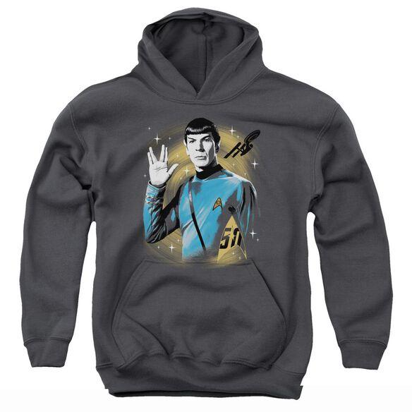 Star Trek Space Prosper Youth Pull Over Hoodie