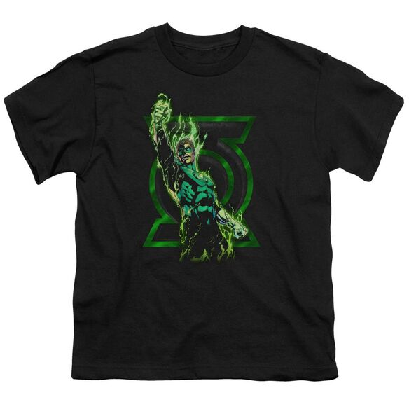 Green Lantern Fully Charged Short Sleeve Youth T-Shirt