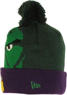 Incredible Hulk Woven Head Cuff Beanie