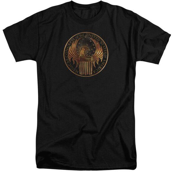 Fantastic Beasts Magical Congress Crest Short Sleeve Adult Tall T-Shirt