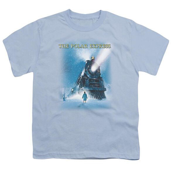 Polar Express Big Train Short Sleeve Youth Light T-Shirt