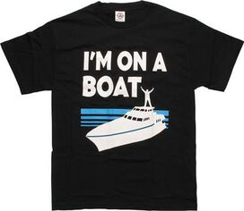 Saturday Night Live on a Boat T-Shirt