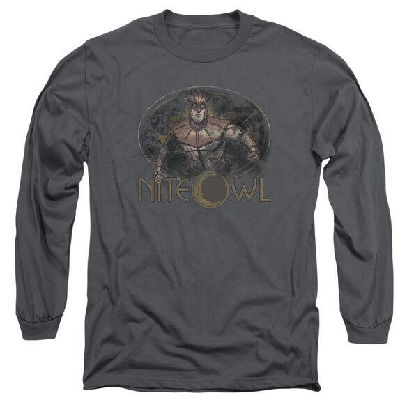 Watchmen Nite Owl Long Sleeve Adult T-Shirt