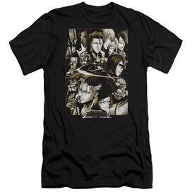 Bleach Slice Short Sleeve Adult T-Shirt