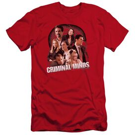 Criminal Minds Brain Trust Premuim Canvas Adult Slim Fit
