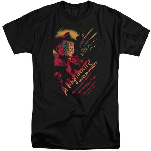 Nightmare On Elm Street Freddy Claws Short Sleeve Adult Tall T-Shirt