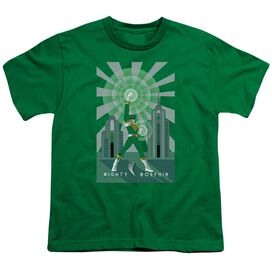 Power Rangers Ranger Deco Short Sleeve Youth Kelly T-Shirt