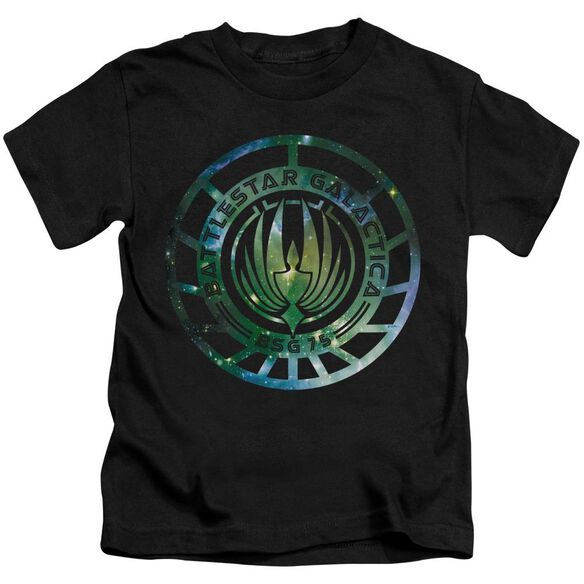 Battlestar Galactica (New) Galaxy Emblem Short Sleeve Juvenile T-Shirt