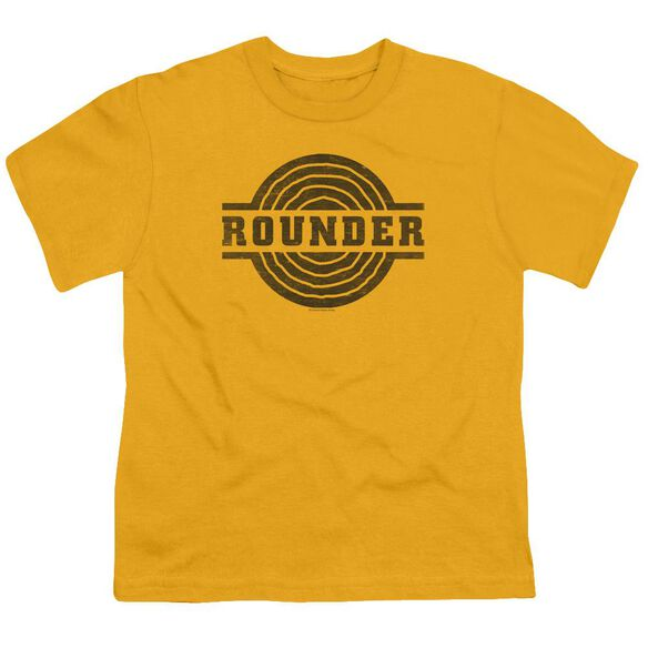 Rounder Rounder Distress Short Sleeve Youth T-Shirt