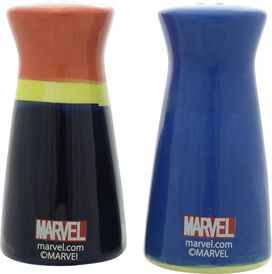Captain Marvel And Ms. Marvel Duo Salt Shaker Set