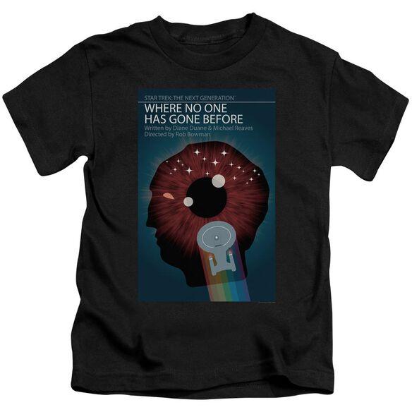 Star Trek Tng Season 1 Episode 6 Short Sleeve Juvenile Black Md T-Shirt