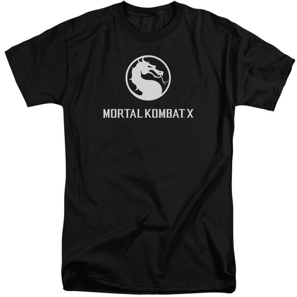 Mortal Kombat Dragon Logo Short Sleeve Adult Tall T-Shirt