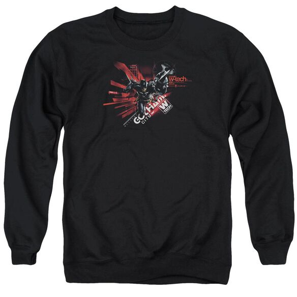 Batman Arkham Knight Ak Tech Adult Crewneck Sweatshirt