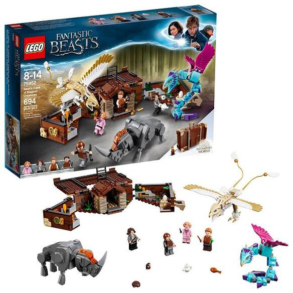 LEGO Harry Potter Fantastic Beasts Newt's Case of Magical Creatures [75952]