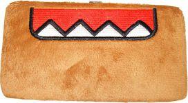 Domo Kun Furry Clutch Wallet