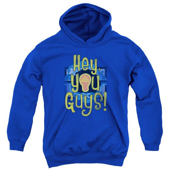 Electric Company Hey You Guys Youth Pull Over Hoodie Royal
