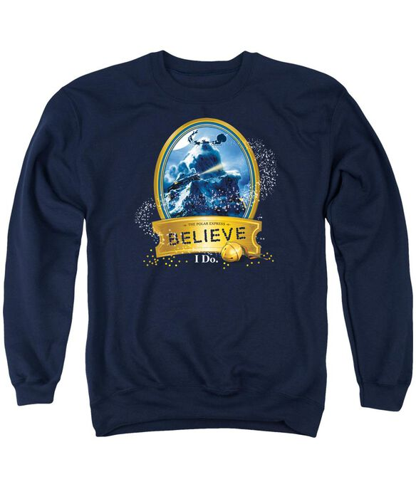 Polar Express True Believer Adult Crewneck Sweatshirt