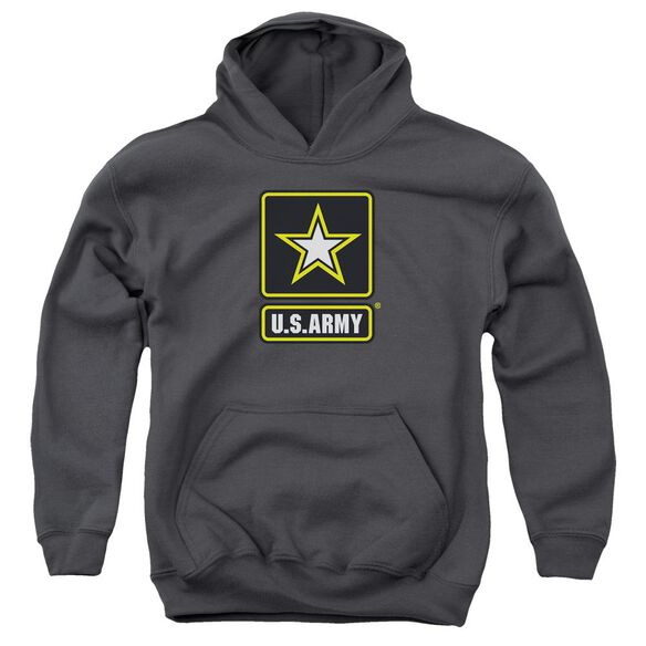 Army Logo Youth Pull Over Hoodie