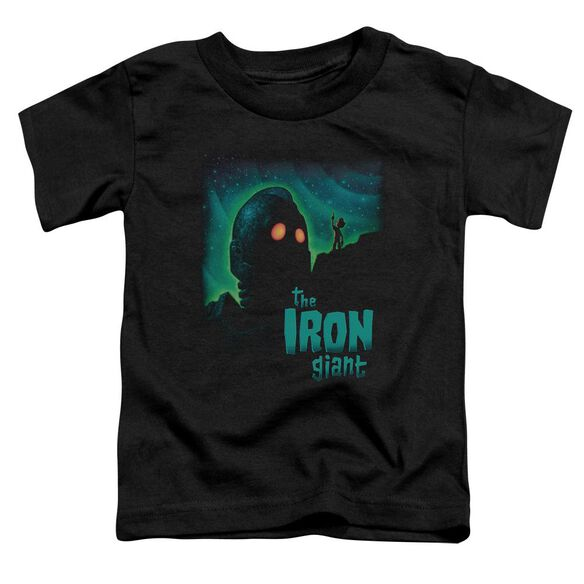 Iron Giant Look To The Stars Short Sleeve Toddler Tee Black Md T-Shirt