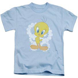 Looney Tunes Retro Tweety Short Sleeve Juvenile Light T-Shirt