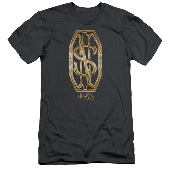 Fantastic Beasts Scamander Monogram Short Sleeve Adult T-Shirt