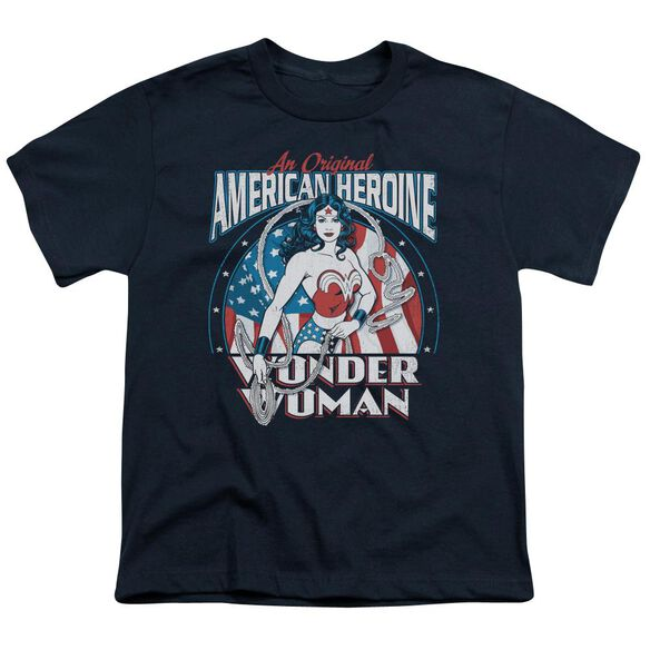 Dc American Heroine Short Sleeve Youth T-Shirt