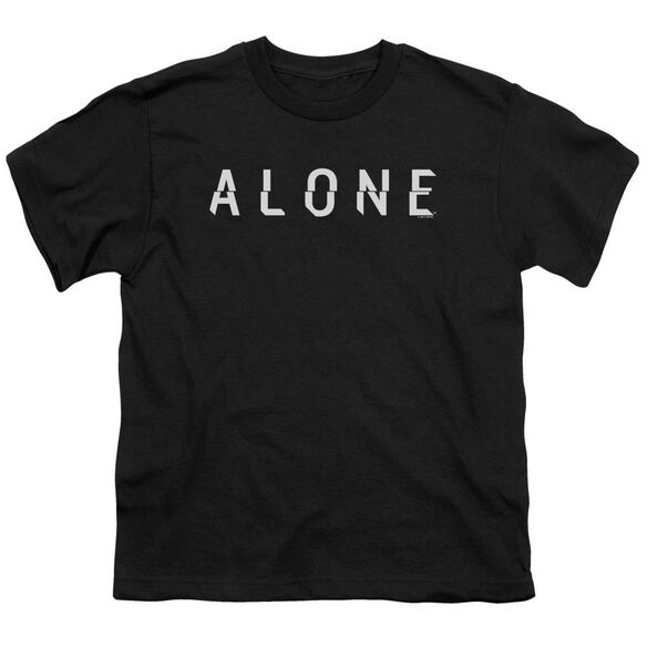 Alone Alone Logo Short Sleeve Youth T-Shirt