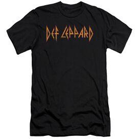 Def Leppard Horizontal Logo Short Sleeve Adult T-Shirt